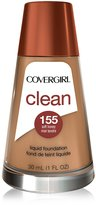 Cover Girl Clean Liquid Makeup Soft Honey Warm 155, 30ml