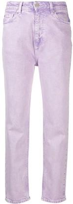 IRO High-Waist Slim-Leg Jeans