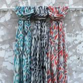 Aura Que Asha Printed Fine Wool Scarf