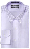 Slim Fit Checkered Dress Shirt