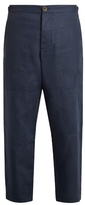 Oliver Spencer Judo linen trousers