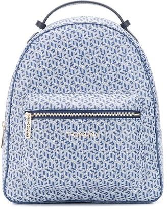 Tommy Hilfiger All Over Branded Backpack