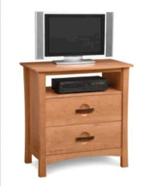 Copeland Furniture Berkeley Solid Wood TV Stand for TVs up to 32 inches Copeland Furniture Color: Natural Cherry