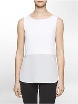 Calvin Klein Sleeveless Floaty Hem Top