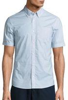 Michael Kors Vincent Geometric Printed Sportshirt