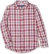 Gant Girl's Check Flannel Shirt Blouse,(Manufacturer Size: 122/128)