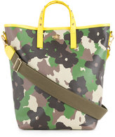 Muveil floral camouflage print tote - women - Polyester - One Size
