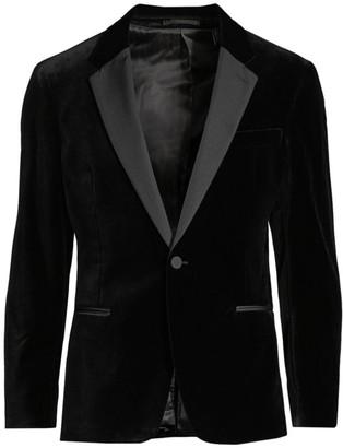Theory Chambers Velvet Tuxedo Blazer