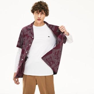 Lacoste Mens Crew Neck Pima Cotton Jersey T-shirt
