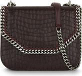 Stella McCartney Faux-croc shoulder bag