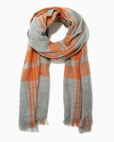 Charming charlie Bright Plaid Blanket Scarf