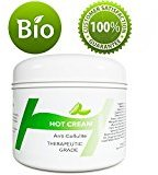 Honeydew Anti-Cellulite Cream Fat Burning Hot Cream to Lose Weight - Slimming Cream for Belly Arms Legs & Butt – Skin Tightening Cream for Men and Women With 100% Natural Essential Oils Lavender and Rosemary