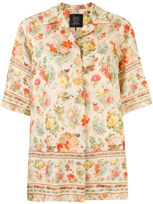 Romance Was Born Foxworth Hall floral shirt