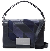 Stuart Weitzman Mini Patchwork Leather Satchel