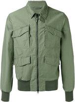 Aspesi front pocket bomber jacket