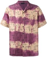 Lanvin tie-dye short sleeved shirt