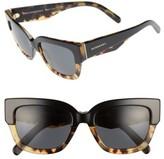 Burberry Women's 53Mm Sunglasses - Black/ Havana