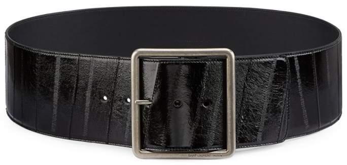 cbb3cefd69 Patent Leather Belt