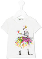 Junior Gaultier girl print T-shirt - kids - Cotton/Spandex/Elastane - 24 mth