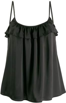 Guardaroba ruffled loose-fit top