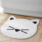 The Emily & Meritt Cat Bath Mat, Ivory