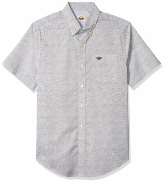 Dockers Short Sleeve Button-Down Comfort Flex Shirt