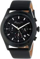 Kenneth Cole New York Kenneth Cole Men's KC1901 Leather Quartz Watch with Dial