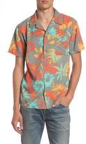 Quiksilver Men's Desert Trip Print Shirt