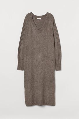 H&M Knit Dress - Brown