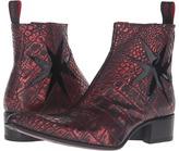 Jeffery West Crusader-Cross Zip Men's Shoes
