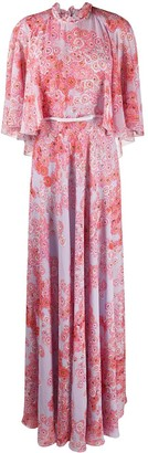 Giambattista Valli Floral-Print Maxi Dress