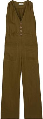 Nicholas Linen Wide-leg Jumpsuit