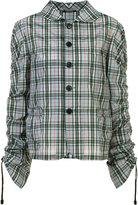 Maison Margiela checked shirt - women - Cotton - 40
