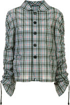 Maison Margiela checked shirt