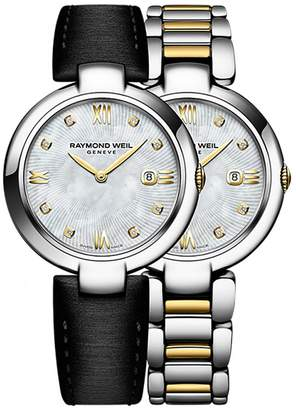 Raymond Weil Women's Shine Mother of Pearl Diamond Watch, 32mm - 0.03 ctw