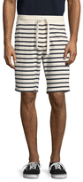 Tailor Vintage Sailor Stripe French Terry Shorts