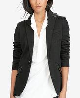 Polo Ralph Lauren Leather-Trim Blazer