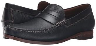 Trask Sadler (Brandy American Steer) Men's Slip on Shoes