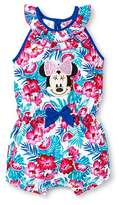 Minnie Mouse Disney Minnie Mouse Baby Girls' Romper - White