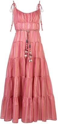 Zimmermann Bonita tied-straps dress