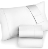 Sunham CLOSEOUT! Ashford Extra Deep Pocket Queen 4-pc Sheet Set, 530 Thread Count Egyptian Cotton