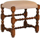 One Kings Lane Vintage 19th-C. English Oak Stool