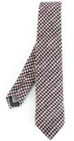 Canali houndstooth pattern tie