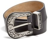 GUESS GUE Women' Wide Wetern Belt
