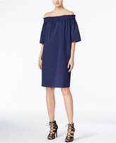 Rachel Roy Smocked Off-The-Shoulder Dress, Only at Macy's