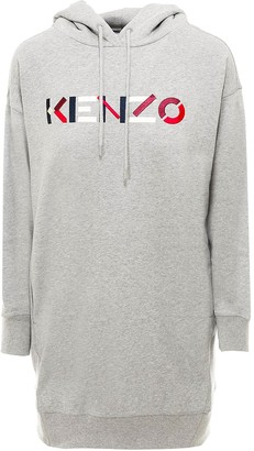 Kenzo Logo Embroidered Hoodie