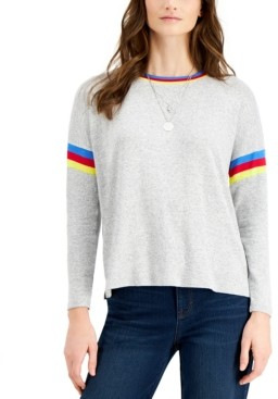 Style&Co. Style & Co Petite Crewneck Sweater, Created for Macy's