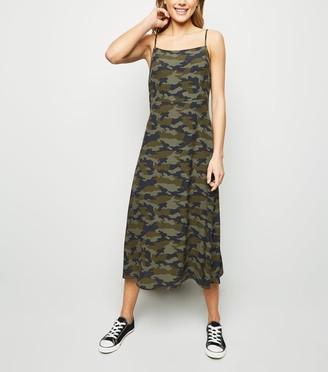 New Look Camo Slip Dress