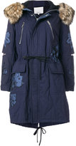 3.1 Phillip Lim embroidered parka coat