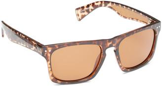 Joe's Jeans Women's Sunglasses DARK - Dark Brown & Tortoise Polarized Square Sunglasses